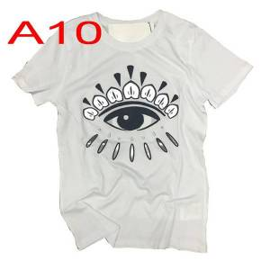 DHgate fashion brand man t shirts embroidery eye tees lady hip hop letter short sleeve wholesale drop shipping
