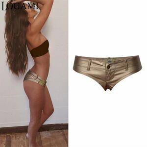 DHgate shorts women low waist pu leather mini shorts micro shorts pantalones cortos de las mujeres