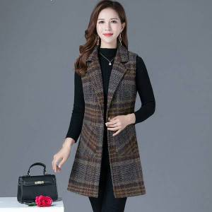 DHgate new female 2021 spring woolen vests knitted or crocheted jacket vest plus size 5xl y220 8n3p