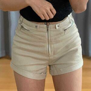 DHgate women's shorts summer shorts jeans zipper shorts, women slim fashion foreign style high waist wild 1jpw