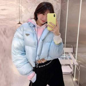 DHgate vests 2021 winter small thickened removable sleeve down super short et ma jianv