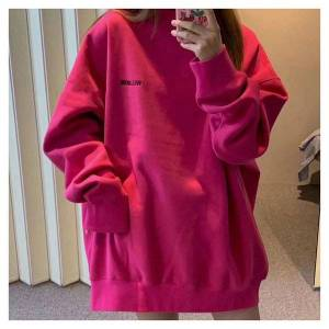 DHgate 2021 harajuku new spring hoodie welldone men's and women's letter printed cotton casual trend women hoodies pz80