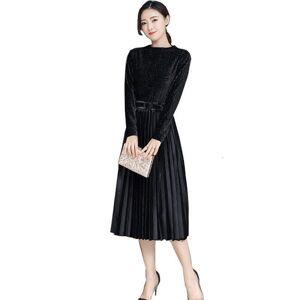 DHgate 2021 spring autumn velvet mode 2 piece set women long sleeve irregular + elastic belt get out tender suit d261 3dn3