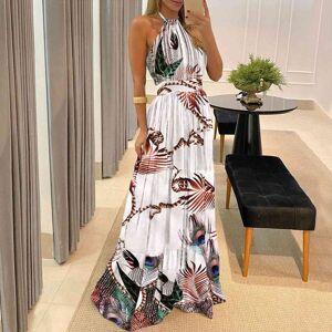DHgate polka dot print halter women dress backless sleeveless beach sukienki damskie elegant sukienka damska