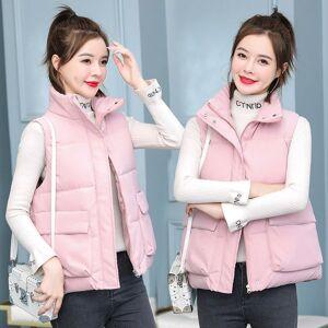 DHgate jacket chalecos para mujer cotton short korean kamizelka damska waistcoat vest women's jacket sans manche femme 86e7