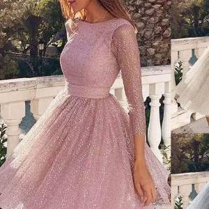 DHgate sling cross wedding womens dresses o neck elegant party evening slim hollow lace dress vestido festa sukienki na wesele damskie