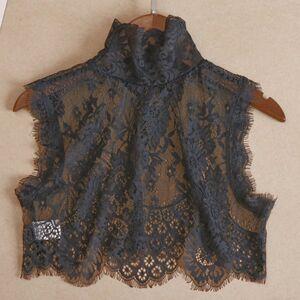 DHgate women's blouses & shirts wild lace blouse decorative joker shirt collar with sweater autumn ear female summer wild blouse ladies dbka