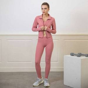 DHgate women's tracksuits tracksuitsautumn and winter yoga bra pants coat professional fitness training running suit ma6e