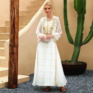 DHgate eid mubarak high-end handwork diamonds kaftan moroccan abaya dubai turkey arabic muslim dress women sukienki vestidos dressesplus size cloth