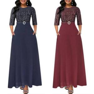 DHgate 2021elegant women muslim dress dubai abaya turkish pakistan caftan moroccan kaftan hijab evening dresses malaysia gowns djelaba