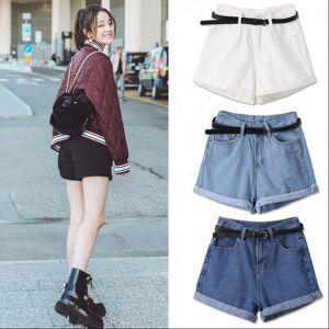 DHgate denim pantalones cortos de womens shorts muje jians summer high waist jean cycliste femme mode spodenki jeansowe damskie