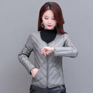 DHgate 2021 winter korean fashion women's inner liner m's close fitting warm down et light and thin long sleeved ma jianv
