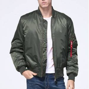 DHgate men's vests ma1 winter bomber jackets men women thick warm padded military male pilot coat army baseball streetwear branded clothing a1