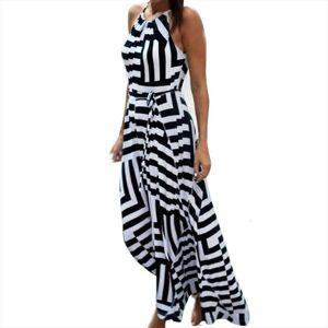 DHgate summer boho maxi long women dresses evening party beach sundress clothes for sukienki damskie