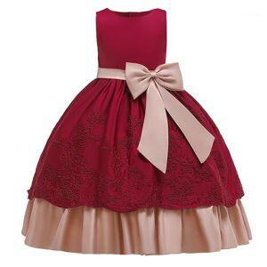 DHgate 2019 big bow kids dresses for girls children clothes wedding evening dress princess dress elegant party 10 12 years1