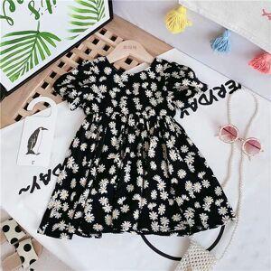 DHgate pattern floral kids clothes girls 2021 summer party tutu dresses for children dance evening dress girl clothing