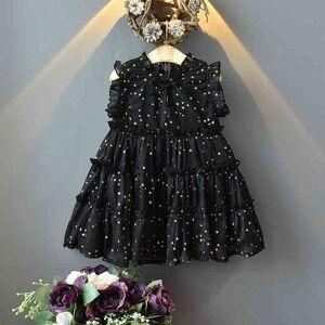 DHgate girl's dresses summer star pattern children's princess for girls wedding evening costume ltdp