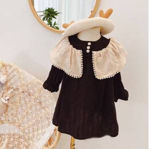 DHgate children 2021 spring clothes baby girl party evening princess dresses for girls dance tutu dress kids clothing