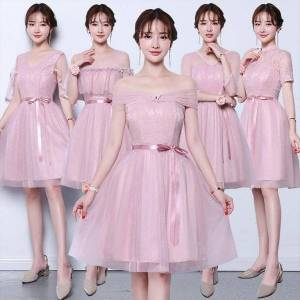 DHgate 11 20y off shoulder teenager girl dresses flower clothes big small evening school prom tutu party children