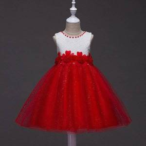 DHgate tulle baby bridesmaid flower girl dresses wedding fluffy ball gown birthday evening prom cloth party 15 16 years