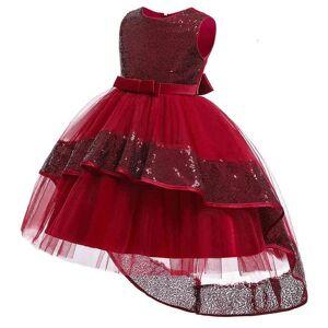 DHgate girl's summer pageant mermaid girl kids dresses for girls children party evening elegant sequin princess dress 10 year c0228