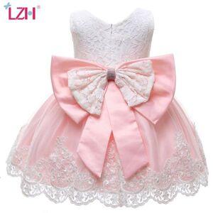 DHgate girl's christmas costume kids dresses for lace princess flower girls wedding children evening party dress c0223