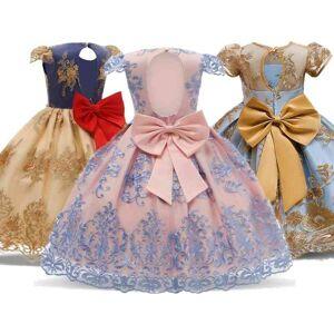 DHgate girl's princess dress gorgeous wedding party gown kids dresses for girls carnival evening costume birthday tutu kid vestido c0223