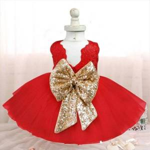 DHgate merry christmas winter party for girl dresses baby girls year ceremony costume evening tulle fabrics kids princess tutu dress