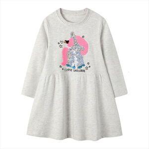 DHgate unicorn girls fall clothes vestidos girl dress sukienki spring autumn vestido unicornio kids princess robe fille
