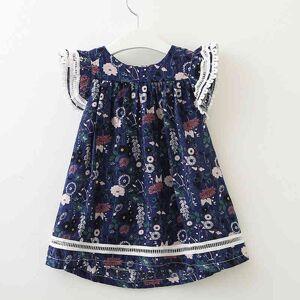 DHgate girl's dresses summer girls for floral princess kid clothing evening children's xc15