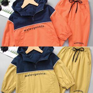 DHgate sets fashion baby boy girl clothes set cotton coat+pant 2pcs bebe kids sport jacket clothing suit long sleeve spring autumn summer c0225