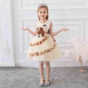 DHgate girl's summer baby clothes ball gown flower girl kids dresses for girls children evening party elegant princess dress c0223