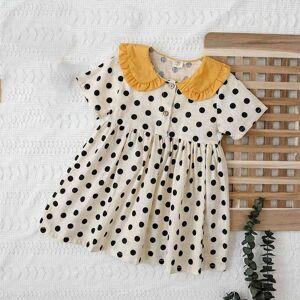 DHgate girl's dresses summer princess kids clothing for girls dot children's evening cau1