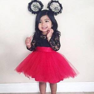 DHgate toddler kids baby girls girl dresses lace princess tulle party evening