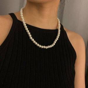 DHgate sjbo-15 classic pearl necklace for women 2021 fashion jewelry chokers