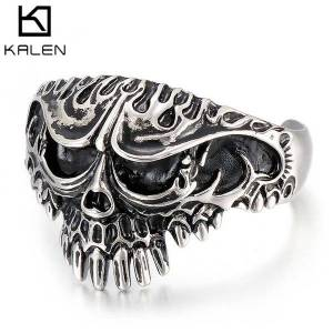 DHgate bangles bracelet smooth fashion men's stainless steel jewelry skull bucktooth accessories