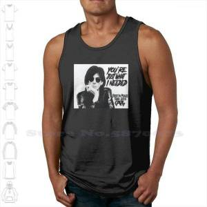 DHgate ric ocasek cars rest in peace black white tank men women rip band just what needed
