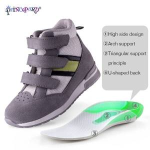 DHgate strap princepard children orthopedic sneaker adjustable corrective casual shoes with ankle support care for kids boy girls