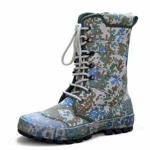 DHgate high-training shoes camouflage outdoor sports hunting hiking climbing army special forces tactical combat boots