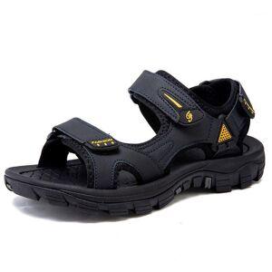 DHgate da sandals-men sandalle sandali man summer rasteira masculina slide playa sandel casa 2020 herren big gladiators deportivas ete1