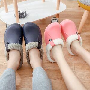 DHgate 2021 the new chinelos inverno indoor macio sapatos casuais crocus com forro l pele piso em casa prova dwaterproof gua das mulheres w5nk
