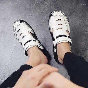 DHgate shoes transpirables uomo vietnam heren cuero para casa masculina summer rasteira sandalen homme classic sandalet zandalias da1