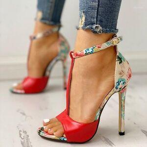 DHgate womens fashion summer exquisite 10cm high heels ladies increased stiletto super high heel sandals1