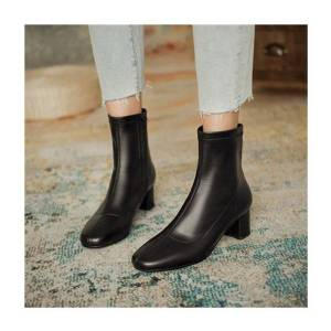 DHgate 2020 and spring female shoes thick stretch side high heel toe tendon sole boots z2ps