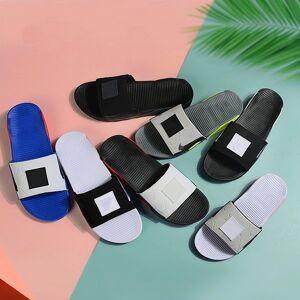 DHgate summer 90 men women slippers fashion slides 90s triple black white grey outdoor mens flat flip flops beach l platform sandals 36-45