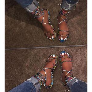 DHgate women cross strap fashion wild beach shoes outdoor trend women's summer still flat sandals slippers