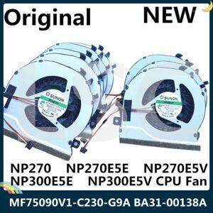 DHgate lsc new original for np270 np270e5e np270e5v np300e5e np300e5v cpu fan mf75090v1-c230-g9a ba31-00138a ksb0705ha cj281