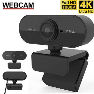 DHgate webcam 1080p mini camera hd 4k full microfoon usb auto focus desklapcomputer pc webcamera with microphone call meeting cam web video