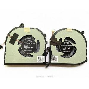DHgate new lapcpu cooling fan for xps15 9560 9570 m5530 notebook cooling fan 008yy9 0tk9j1