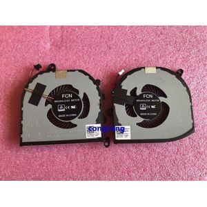 DHgate used cpu gpu cooling fan for xps 15 9570 precision 5530 m5530 fan cooler 08yy9 tk9j1 dc 5v 0.5a mv340 0mv3401